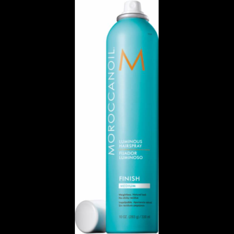 MoroccanOil Luminous Hair Spray Fixativ nivel mediu 330ml