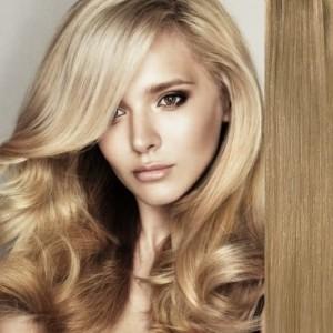 Extensii de par natural NO 16 Beige Medium Blonde